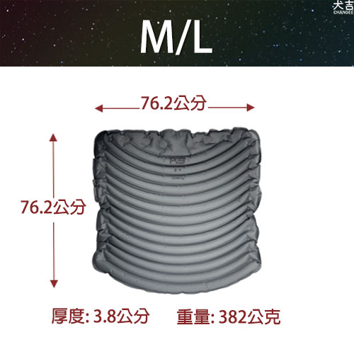 KLYMIT科技輕量充氣床墊M/L尺寸細節